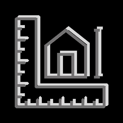 Ikona zwymiarowanego domu